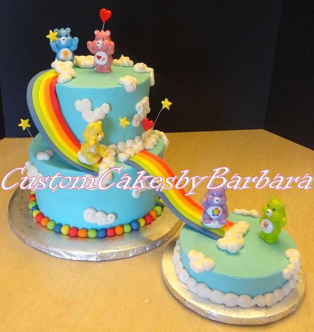 Amazing Carebears Cake By Cohen1 Cakesdecor Birthday Cards Printable Benkemecafe Filternl
