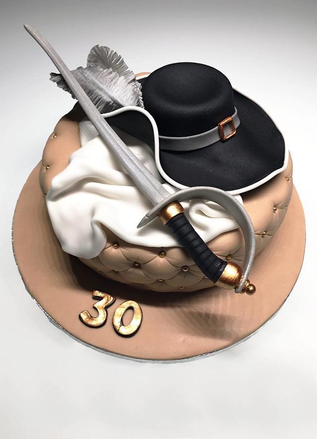 Swordsman's cake