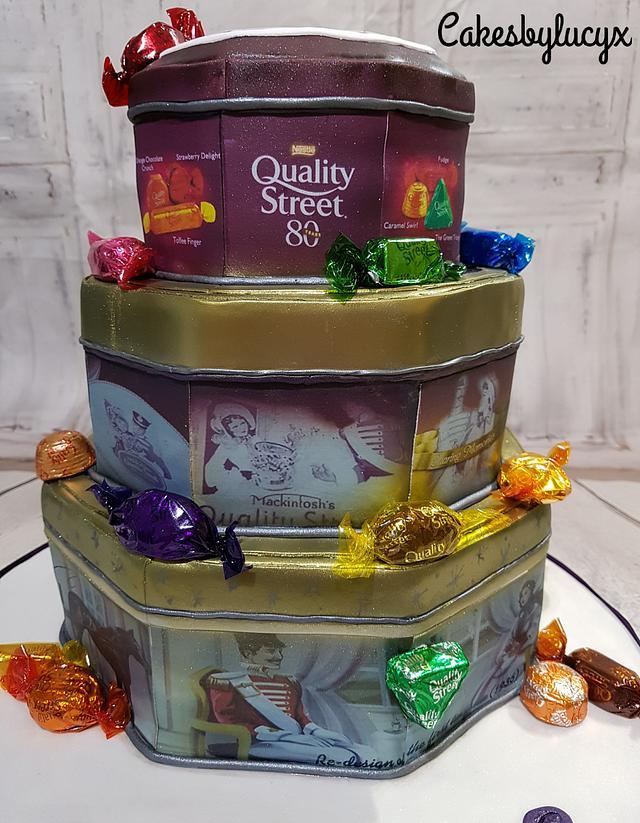 Quality street tins