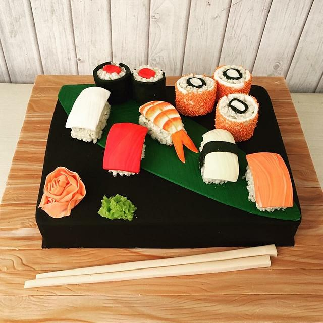 For the love of sushi