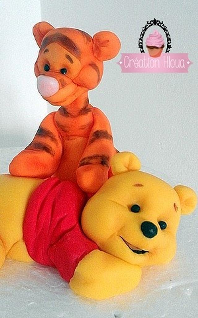 tiger tigrou with winnie