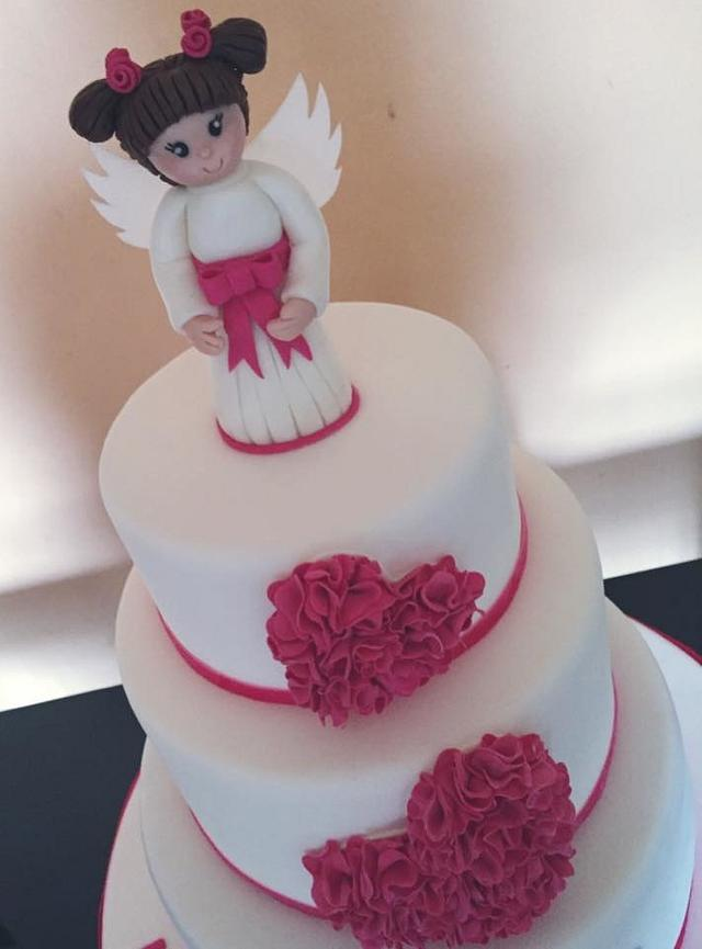 the first communion cake