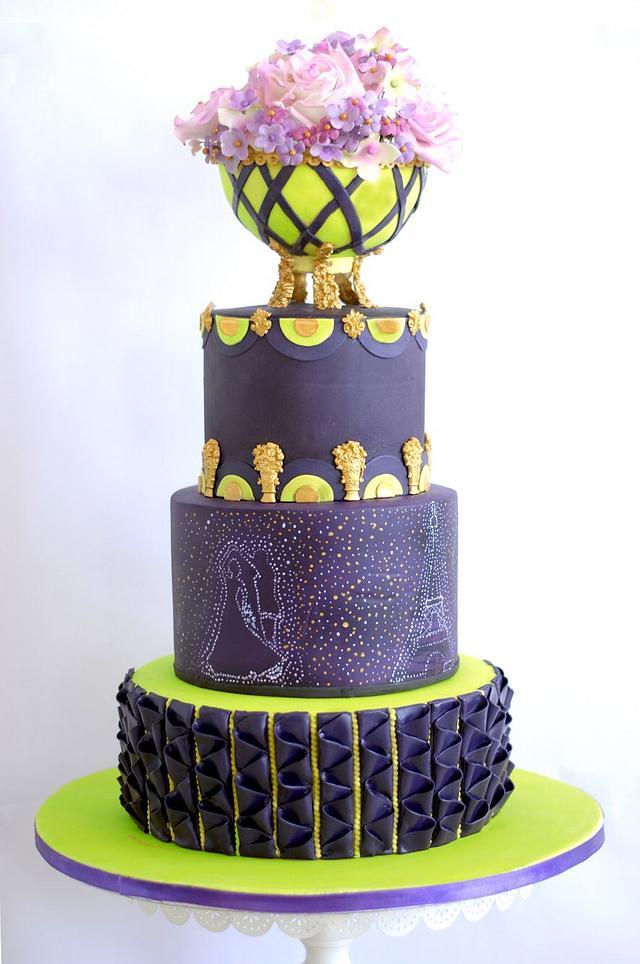 Purple passion- caker buddies collaboration