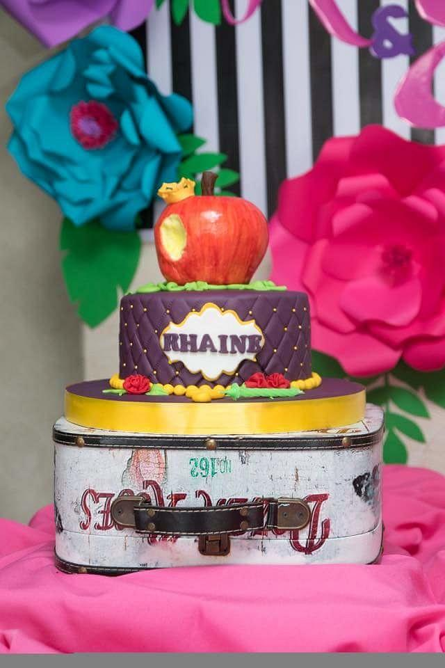 Disney descendant theme cake
