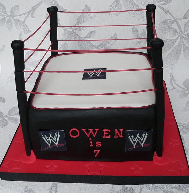 WWE wrestling ring