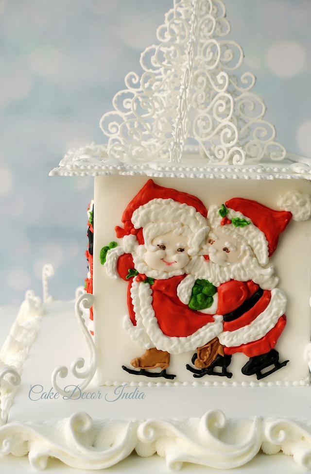 Royal icing Christmas