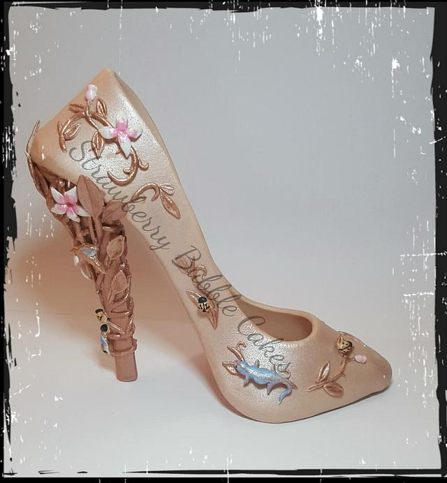 Sugar shoe  - rose gold