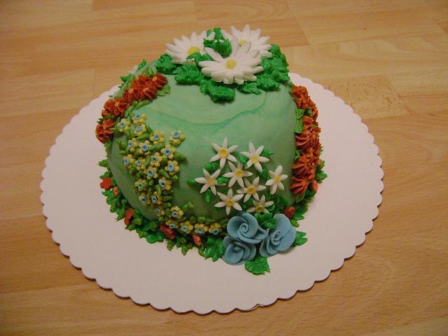 Flower Birthdaycake