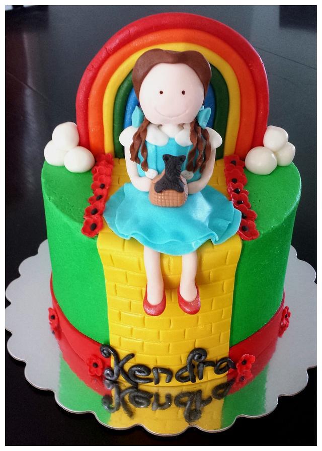 Excellent Wizard Of Oz Birthday Cake Cake By Mjhknsjhjhrj Cakesdecor Funny Birthday Cards Online Bapapcheapnameinfo