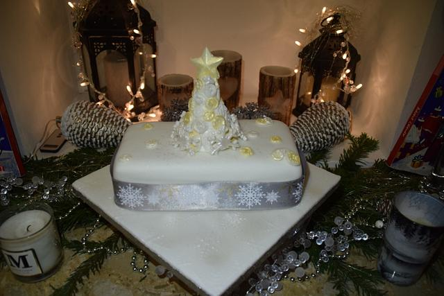Office Christmas Cake