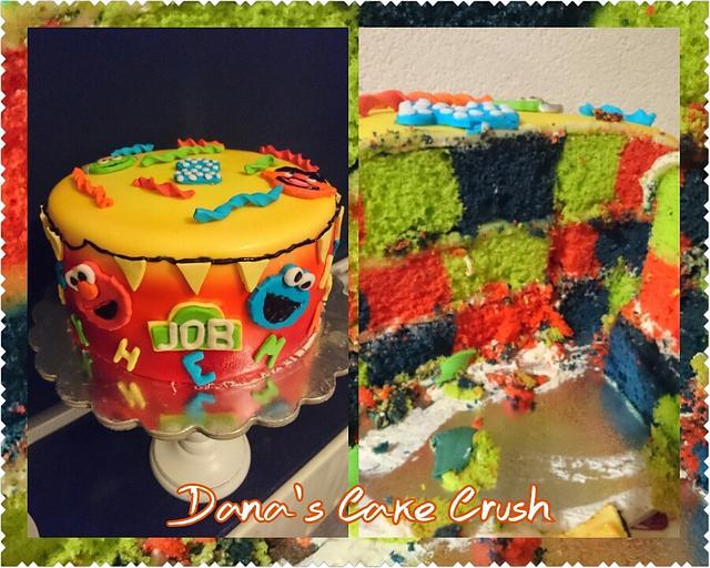 Sesamestreet cake