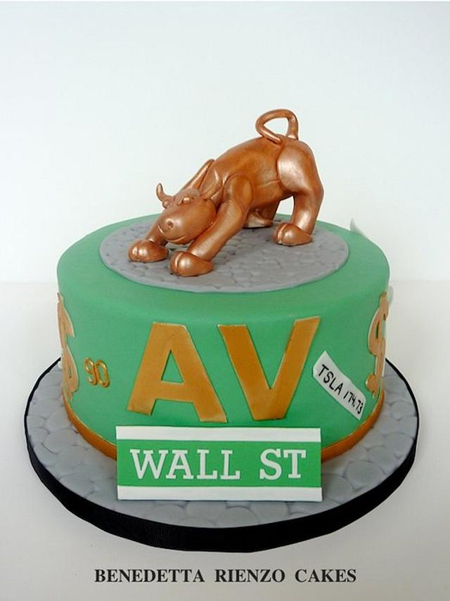 Show me the money! Bull Market Cake.