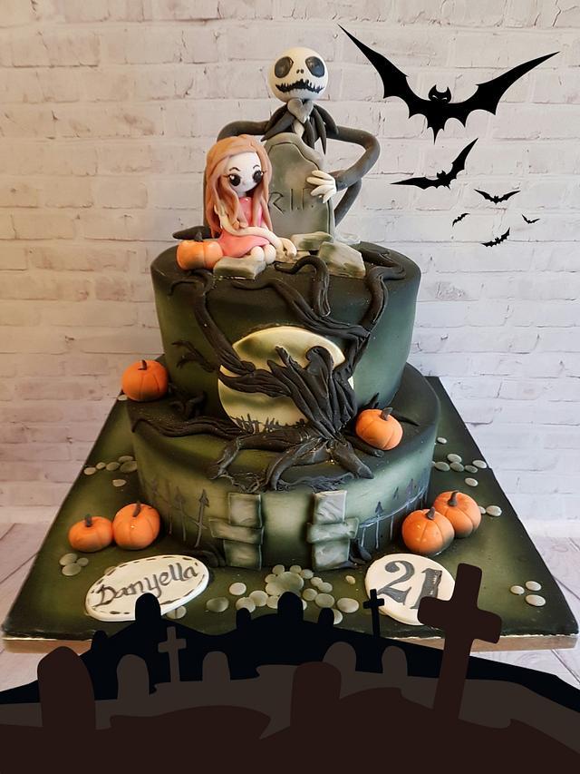 Halloween Tim Burton style