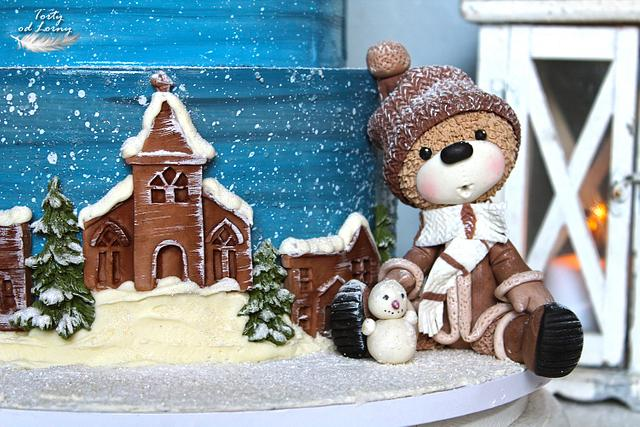 Teddy bears and Christmas