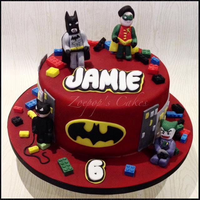 Astonishing Lego Batman Cake By Zoepop Cakesdecor Personalised Birthday Cards Akebfashionlily Jamesorg