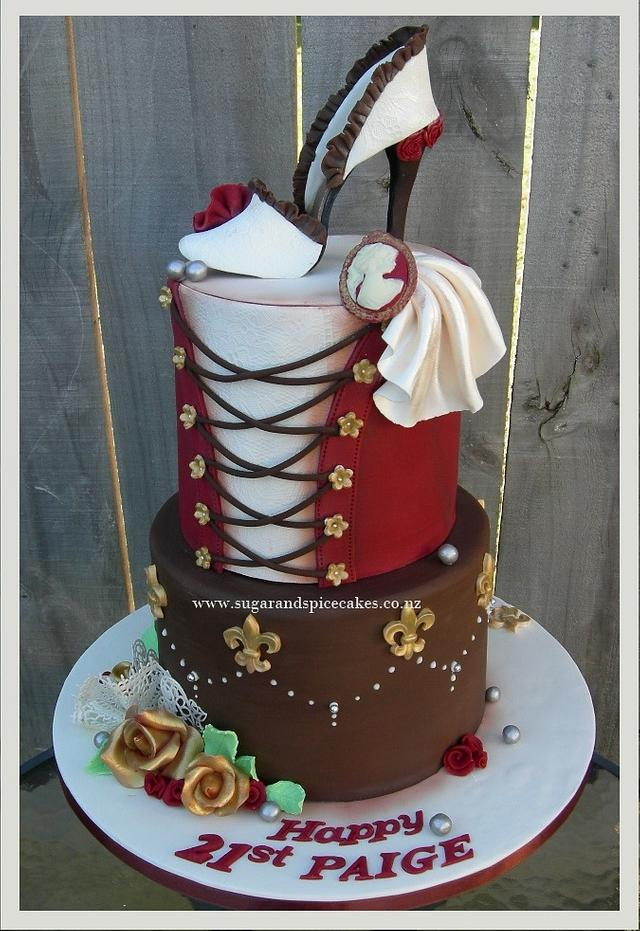 Moulin Rouge Cake ~