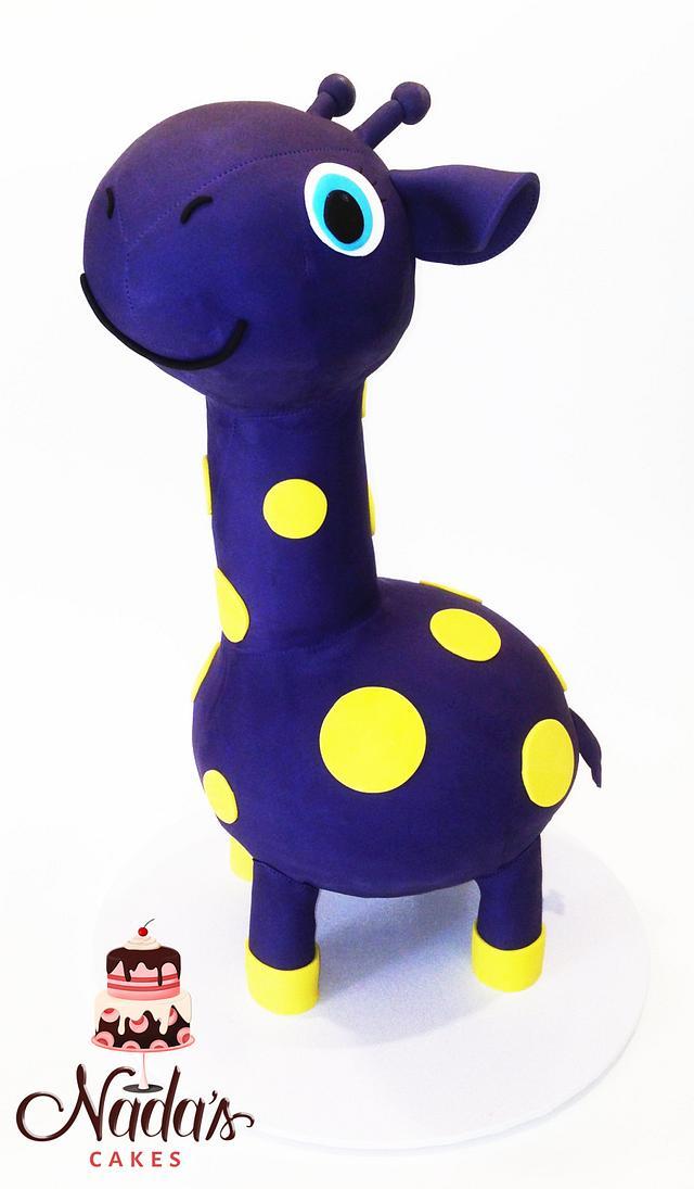 3D Toy Giraffe