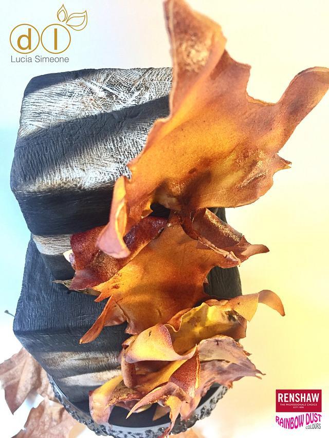 Autumn, wafer paper