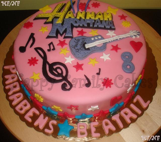 Outstanding Happy Cake Hannah Montana Cake By Nuno Feliz E Marlene Cakesdecor Birthday Cards Printable Inklcafe Filternl