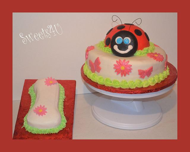 MY First Ladybug cake