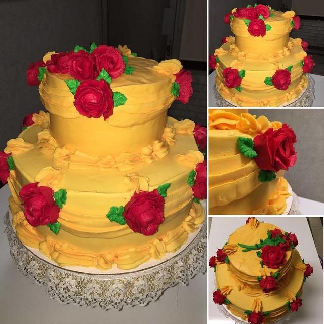 Beauty Disney Cake