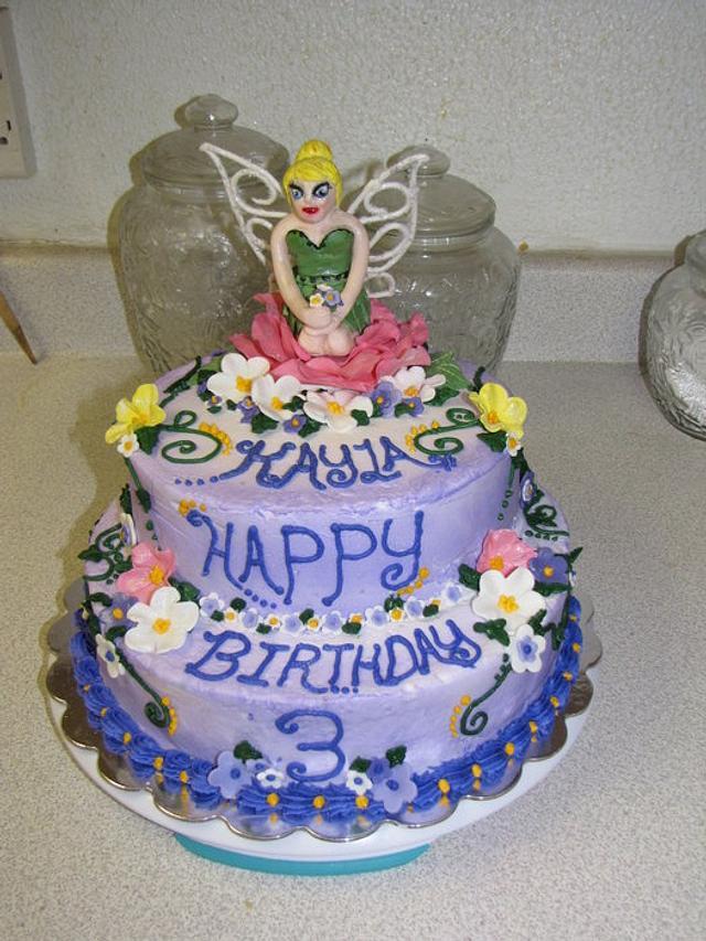 TinkerBell Cake for Kayla