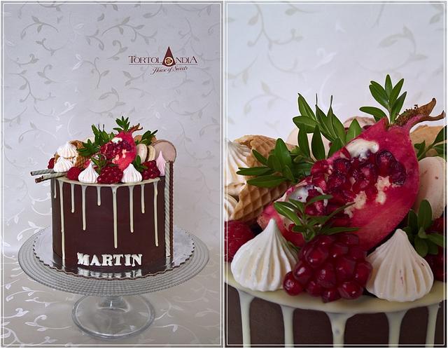 Drip cake for Martin