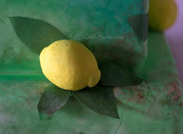 Lemon Tree Cake - Gardens of the World Cake Collaboration
