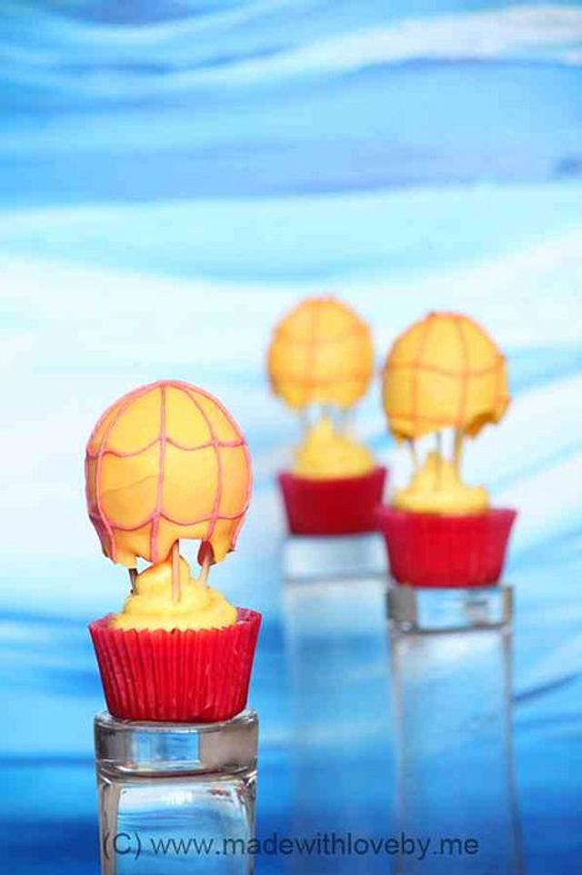 Hot-Air Balloon Cuppies