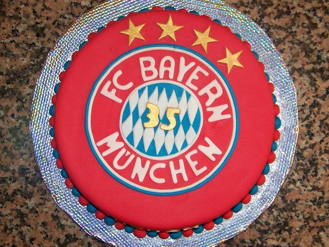 FC Bayern München Cake