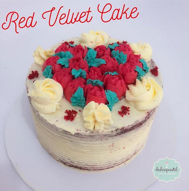 Torta Red Velvet Amor