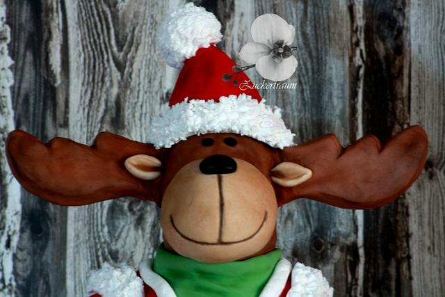 Gustl The Reindeer - CPC Christmas Collaboration