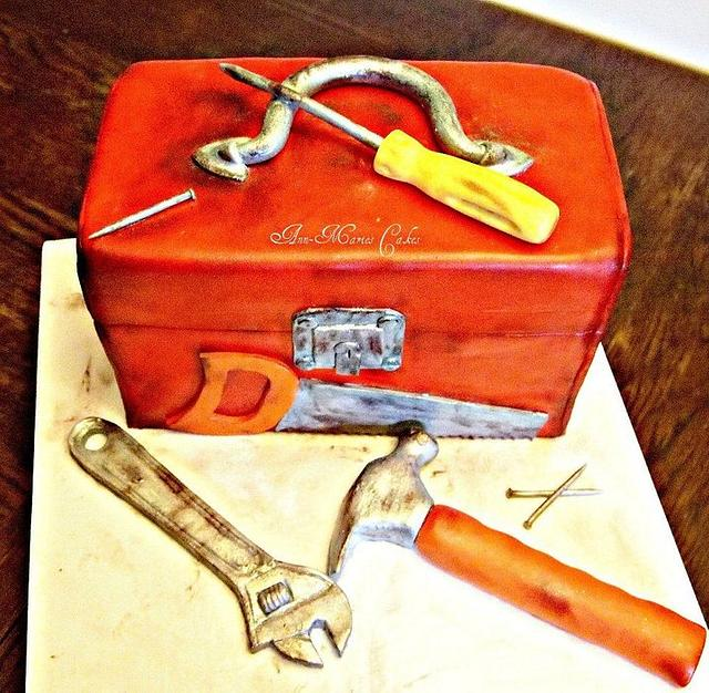 A man's tool box