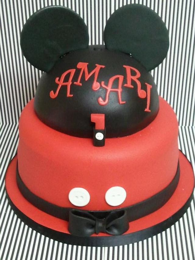 Amari's 1st Birthday