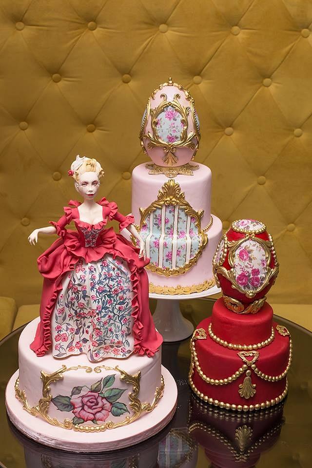 marie antoinete  cake