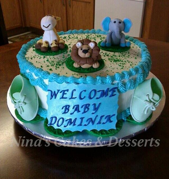 Another Cute Baby Shower Cake