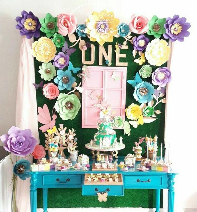 Butterfly theme Sweet table