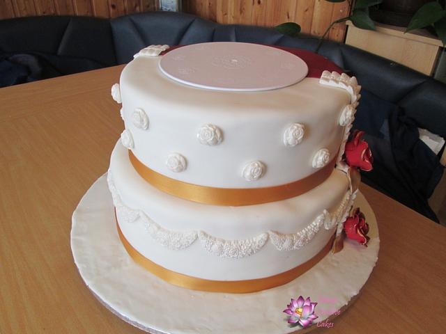 Half Half Bride and Bridegroom