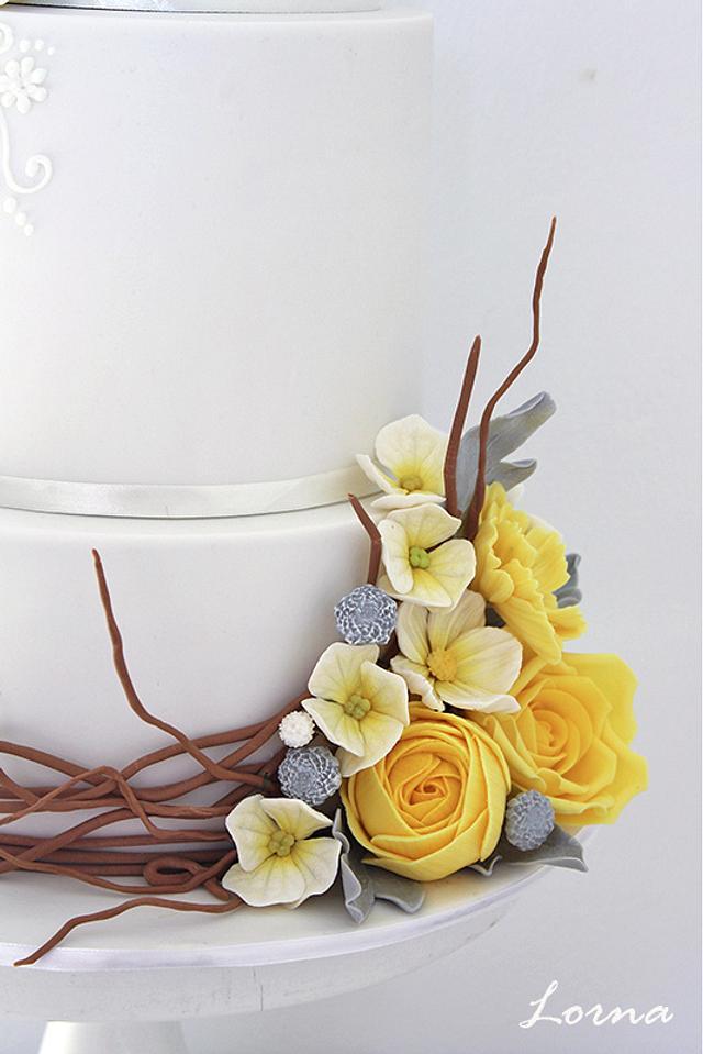 Yellow Flowers..