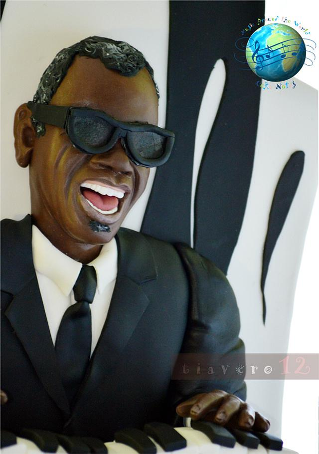 Music around the World-Cakes notes Collaborattion, RAY CHARLES