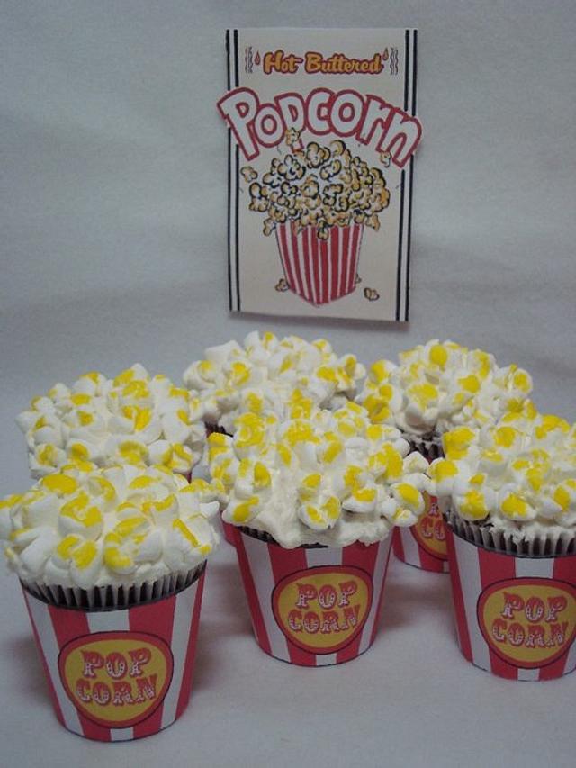 Carnival Cupcakes, Popcorn, Goldfish, & Ice Cream Cones