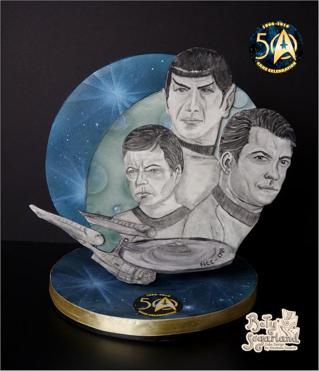 Star Trek Crew (Star Trek 50 - Cake Celebration)