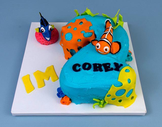 Finding Nemo Smash Cake