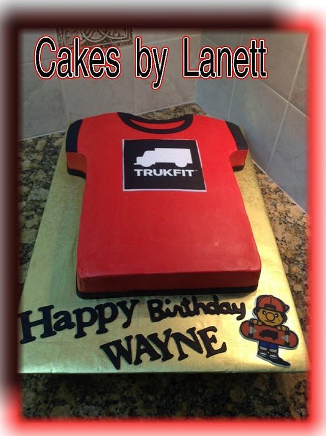 Trukfit Shirt Cake