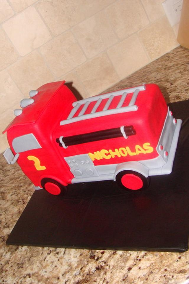 """""""Red"""" firetruck from cars movie"""