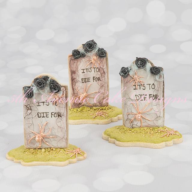 Spooky Tombstone Cookies for Halloween