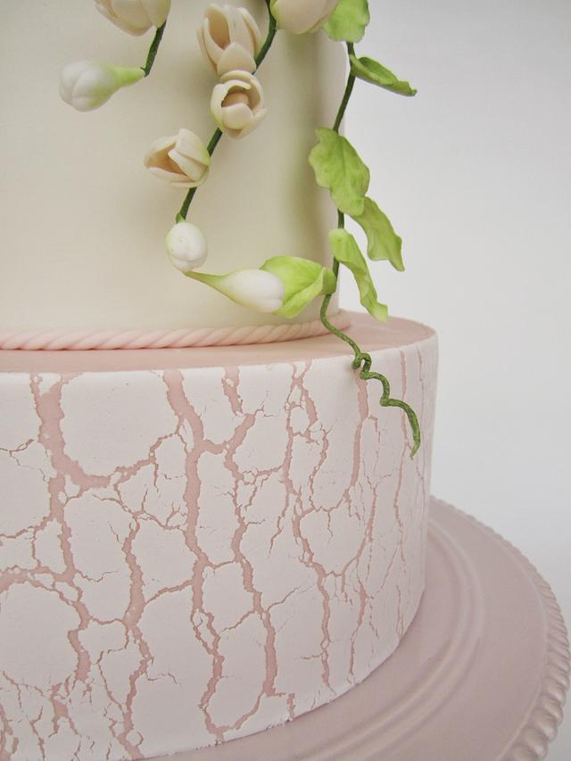 birthday rustic cake