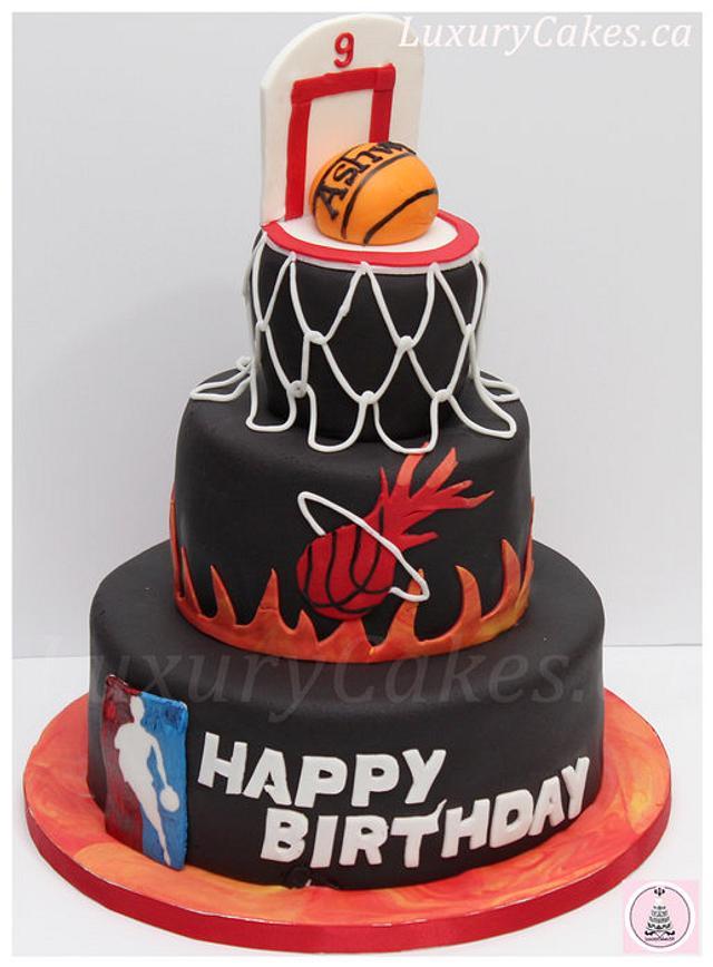 Strange Basketball Themed Cake Cake By Sobi Thiru Cakesdecor Funny Birthday Cards Online Benoljebrpdamsfinfo