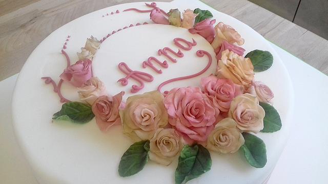 Anna's rose cake
