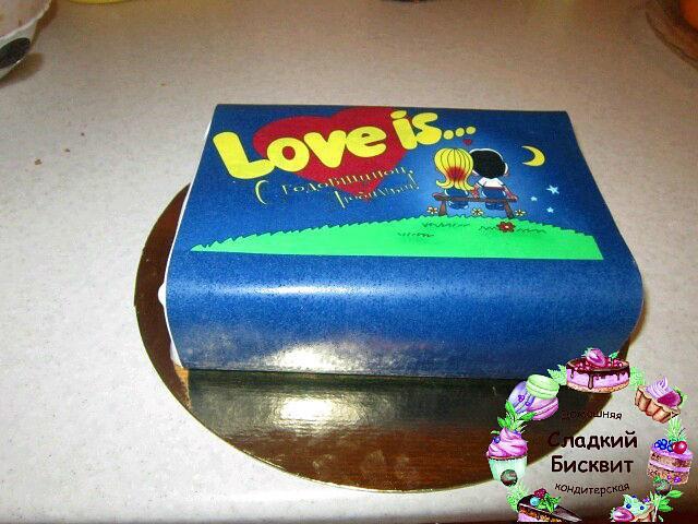 Торт жевательная резинка Lave is...